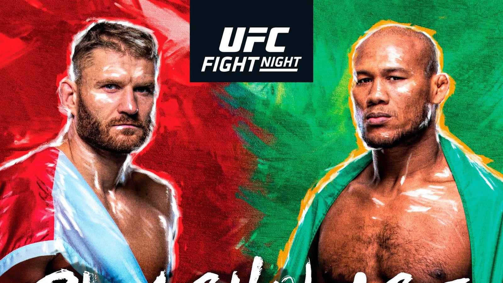 Итоги турнира UFC Fight Night 164